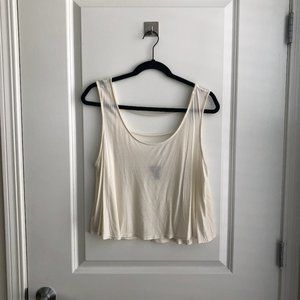 Flowy Crop Top with Strappy Details